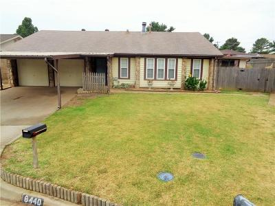 Oklahoma City OK Single Family Home For Sale: $167,500
