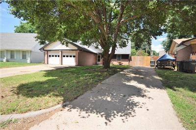 Del City Single Family Home For Sale: 4805 Tate Drive