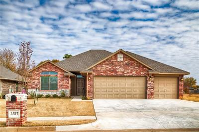 Yukon Single Family Home For Sale: 4517 Oasis Court