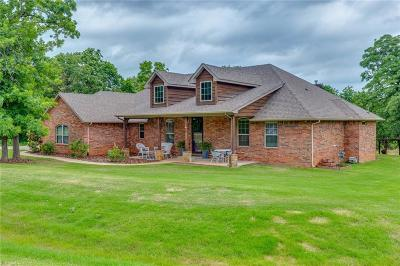Choctaw Single Family Home For Sale: 5800 Montford Way