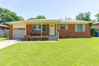 Midwest City Single Family Home For Sale: 636 E Frolich Drive