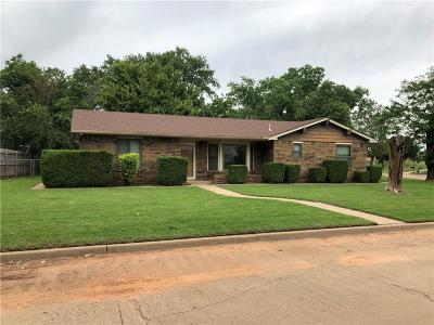 Weatherford Single Family Home For Sale: 1329 N Terrace Drive
