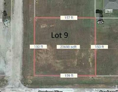 Prague Residential Lots & Land For Sale: 222 Carriage Way