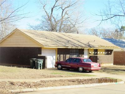 Del City Single Family Home For Sale: 3061 Overland Drive