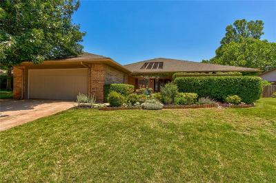 Edmond Single Family Home For Sale: 3404 S Choctaw Drive
