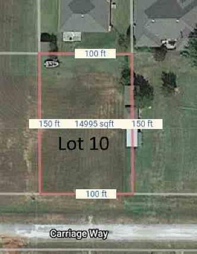 Prague Residential Lots & Land For Sale: 216 Carriage Way