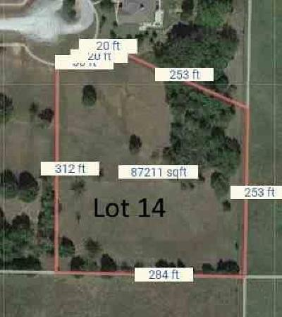 Prague Residential Lots & Land For Sale: 101 Carriage Way