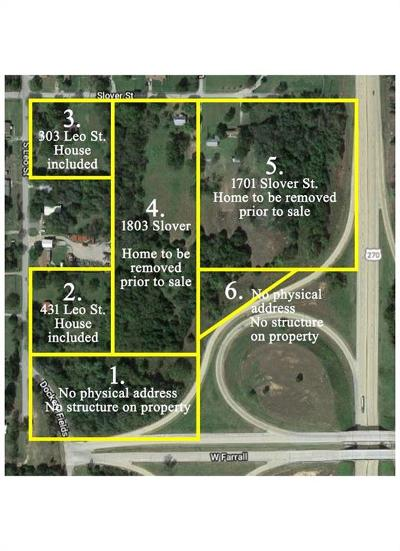 Shawnee Residential Lots & Land For Sale: 303 Leo Street
