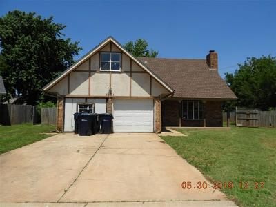 Canadian County, Oklahoma County Single Family Home For Sale: 5301 Spitz Drive