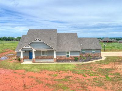 Blanchard OK Single Family Home For Sale: $349,900