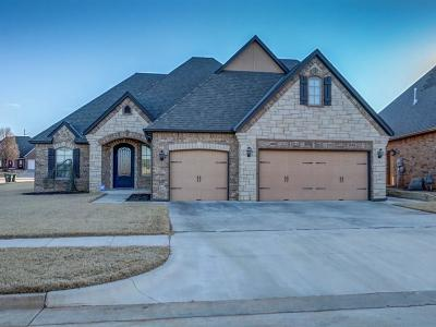 Choctaw Single Family Home For Sale: 1610 Rain Tree Lane