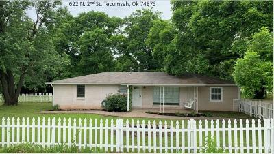Tecumseh Single Family Home For Sale: 622 N 2nd Street