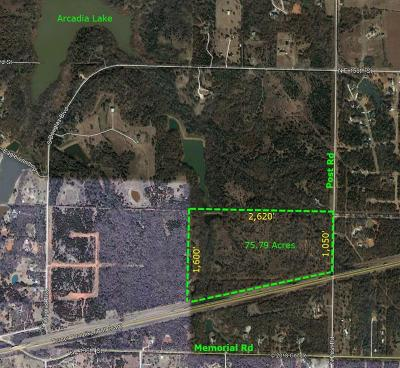 Canadian County, Oklahoma County Residential Lots & Land For Sale: 14201 N Post Road