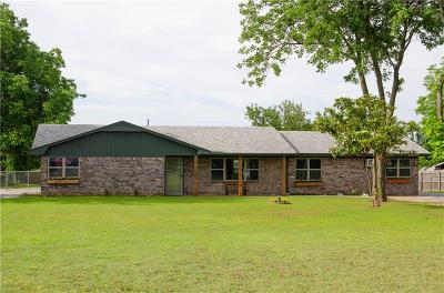 Chickasha Single Family Home For Sale: 1363 State Highway 62 Highway