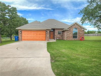 Blanchard OK Single Family Home For Sale: $184,900