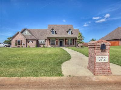 Choctaw Single Family Home For Sale: 672 Fox Drive