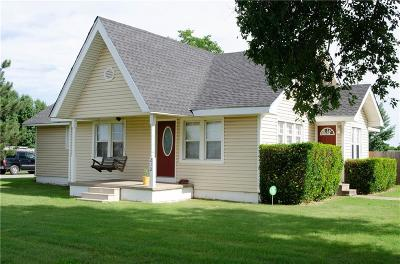Amber Single Family Home For Sale: 212 W Main Street
