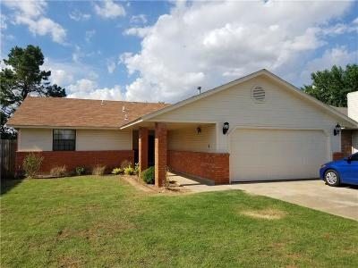 Mustang Single Family Home For Sale: 927 W Ridgehaven Way