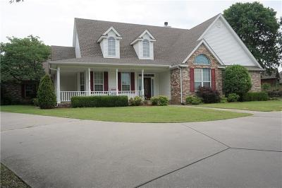Choctaw Single Family Home For Sale: 1030 Hidden Valley Lane