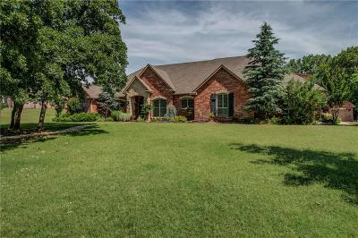 Choctaw Single Family Home For Sale: 16635 River Rock Circle