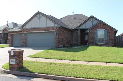 Edmond Single Family Home For Sale: 2716 NW 169th Street