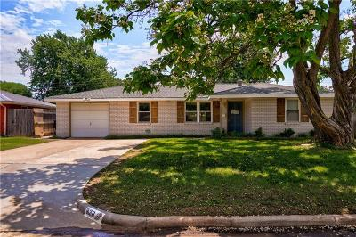 Midwest City Single Family Home For Sale: 820 E Steed Drive