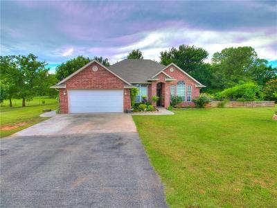 Blanchard OK Single Family Home For Sale: $204,900