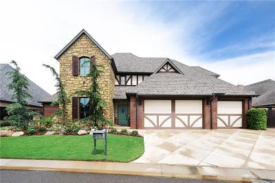 Edmond Single Family Home For Sale: 17108 Royal Troon Drive