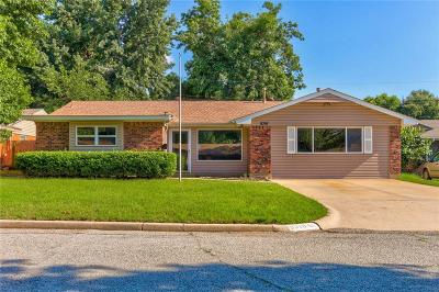 Bethany Single Family Home For Sale: 8316 NW 34th Terrace