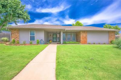 Lincoln County, Oklahoma County Single Family Home For Sale: 10201 Glendover Avenue