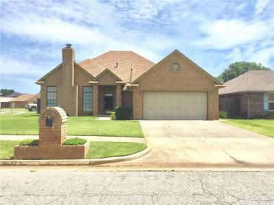 Oklahoma City Single Family Home For Sale: 3113 SW 99th Street
