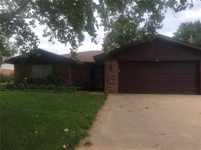 Weatherford Single Family Home For Sale: 1316 N Terrace Drive