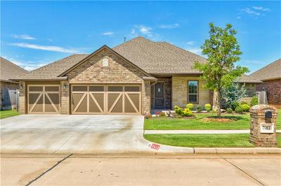 Canadian County, Oklahoma County Single Family Home For Sale: 7017 Chelsey Lane