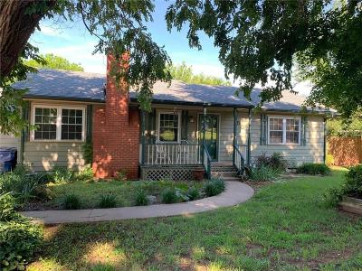 Guthrie Single Family Home For Sale: 502 N Walnut Street