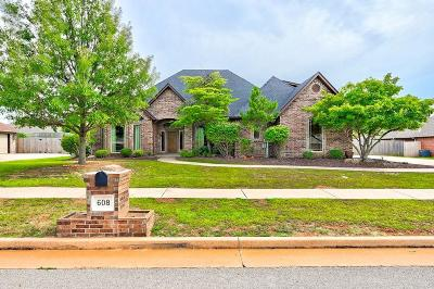 Edmond Single Family Home For Sale: 608 NW 159th Street