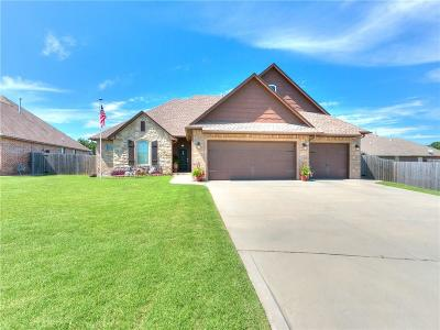 Midwest City Single Family Home For Sale: 10905 Garrett Cole Drive