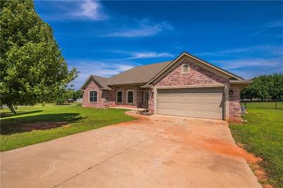 Blanchard OK Single Family Home For Sale: $174,000