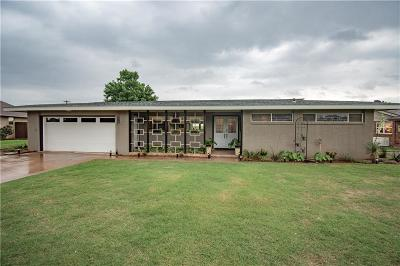 Cordell Single Family Home For Sale: 1624 Crestview Drive