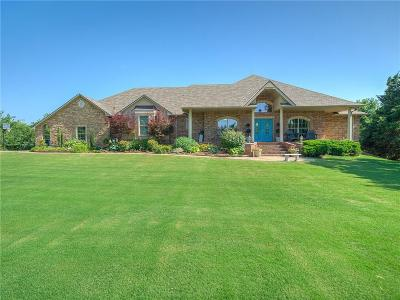 Choctaw Single Family Home For Sale: 332 Buttermilk Cloud Ridge