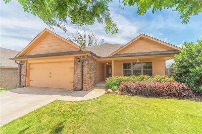 Harrah Single Family Home For Sale: 20660 Frontier Place
