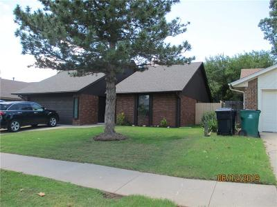 Oklahoma City Single Family Home For Sale: 13213 Moccasin Lane
