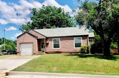 Oklahoma City OK Single Family Home Sale Pending: $59,000