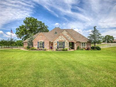 Harrah Single Family Home For Sale: 1951 Redbud Creek Drive