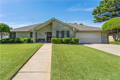 Oklahoma City OK Single Family Home For Sale: $179,900