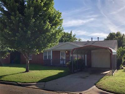 Oklahoma City Single Family Home For Sale: 6109 N Redmond Avenue