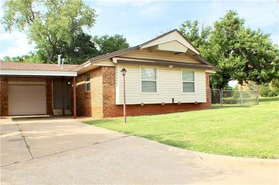 Blanchard OK Single Family Home For Sale: $119,900