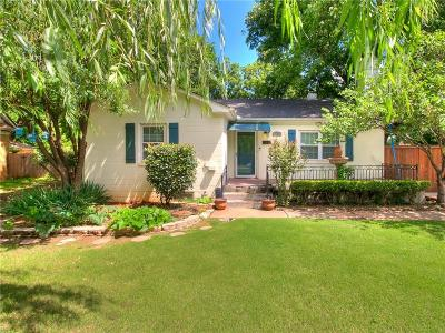 Oklahoma City Single Family Home For Sale: 2107 NW 19th Street