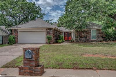 Edmond Single Family Home For Sale: 817 Sandhurst Drive