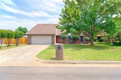 Oklahoma City Single Family Home For Sale: 7624 Maehs Terrace