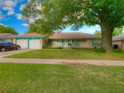Oklahoma City OK Single Family Home For Sale: $154,000